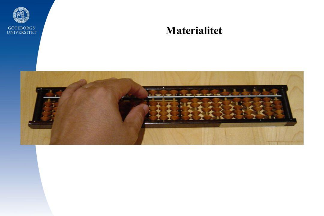 Materialitet