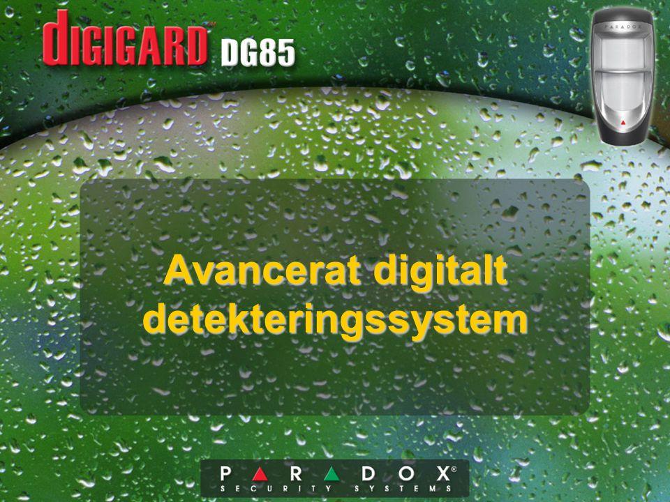 Avancerat digitalt detekteringssystem