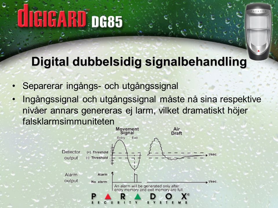 Digital dubbelsidig signalbehandling