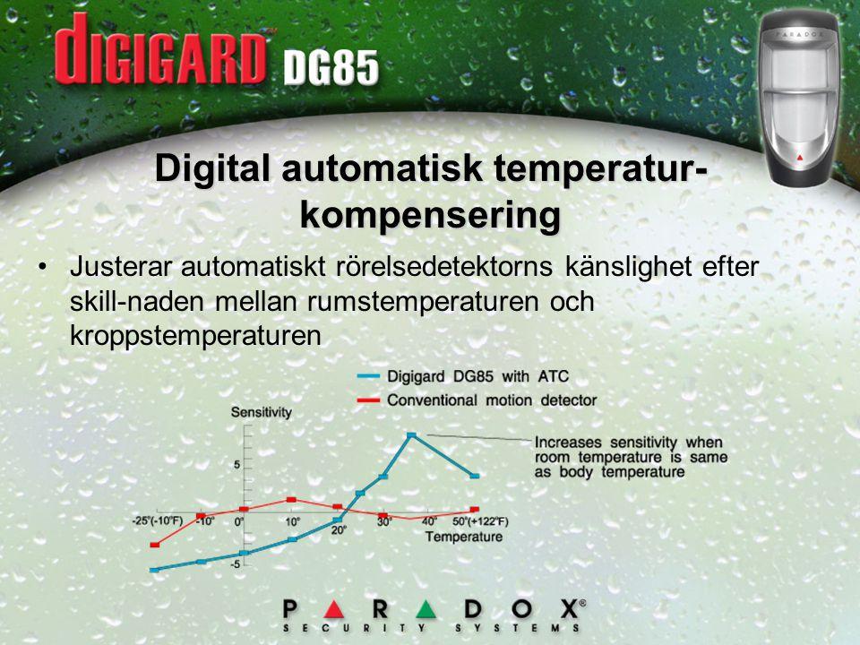 Digital automatisk temperatur- kompensering