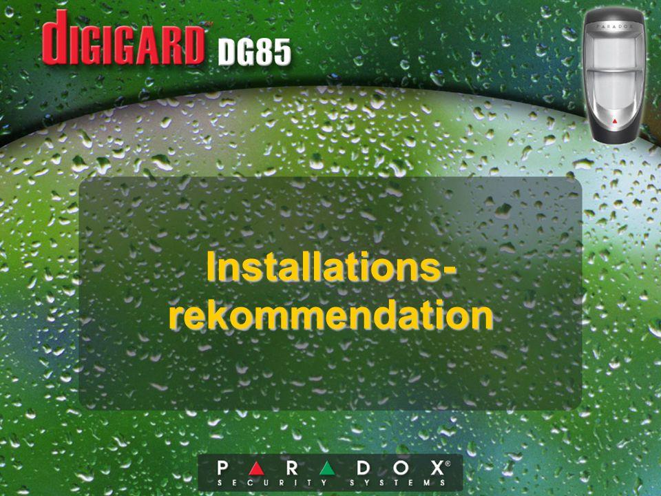 Installations- rekommendation