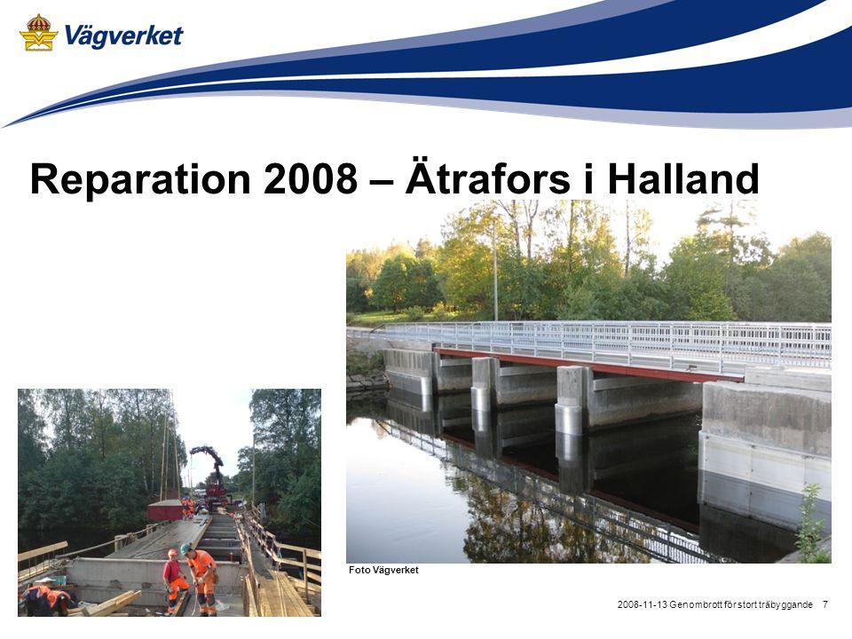 Reparation 2008 – Ätrafors i Halland