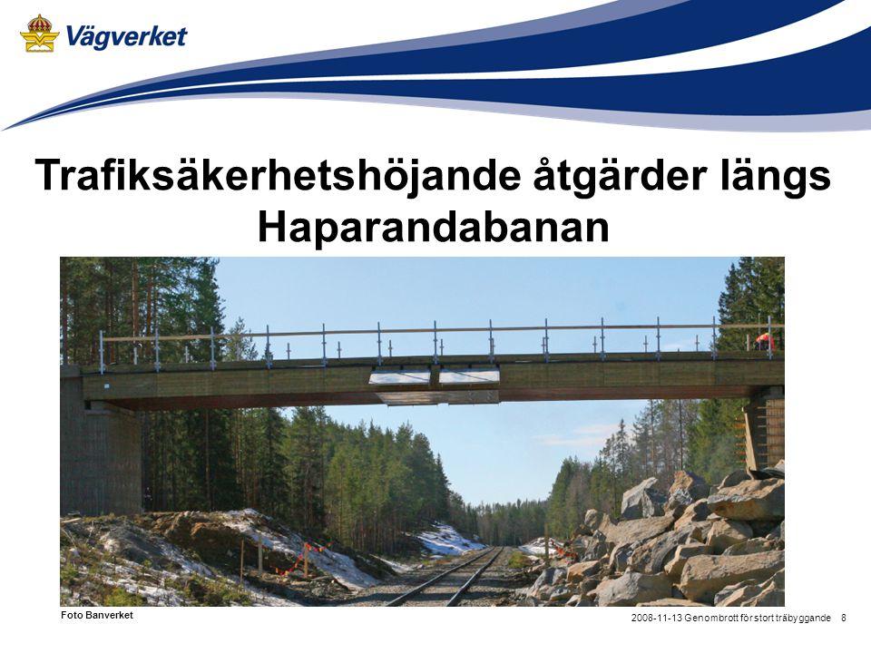 Trafiksäkerhetshöjande åtgärder längs