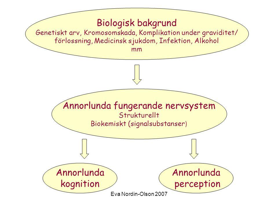 Annorlunda fungerande nervsystem