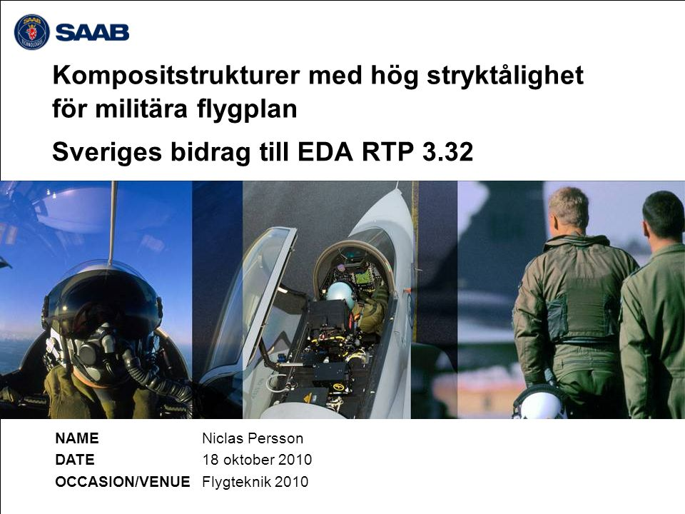 Sveriges bidrag till EDA RTP 3.32