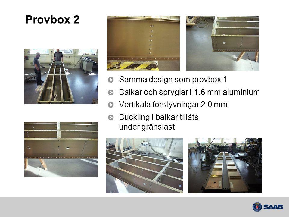 Provbox 2 Samma design som provbox 1