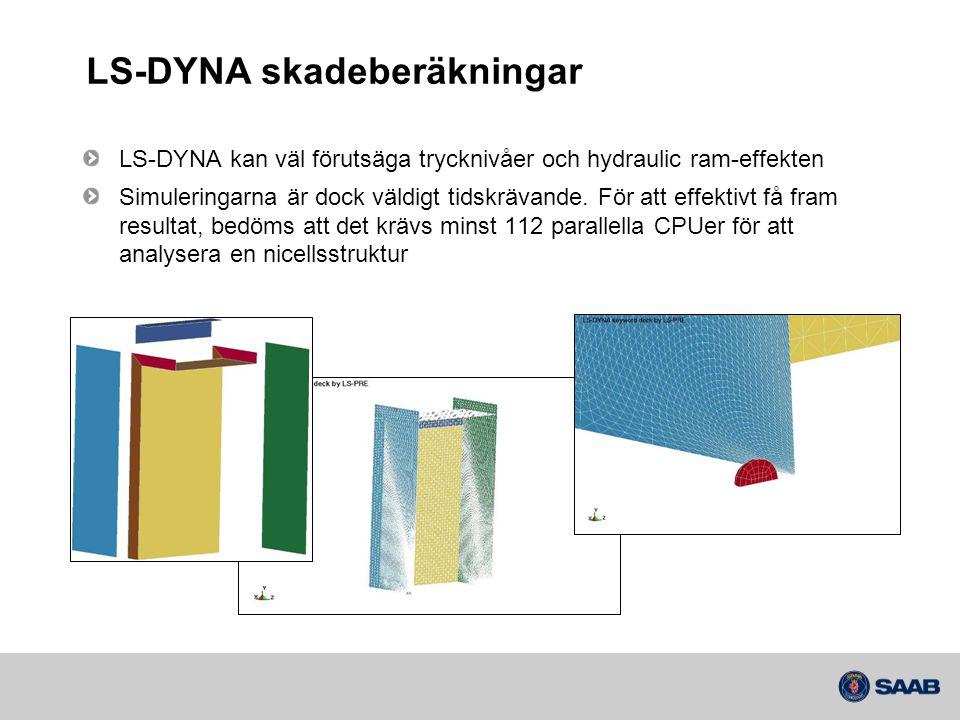 LS-DYNA skadeberäkningar
