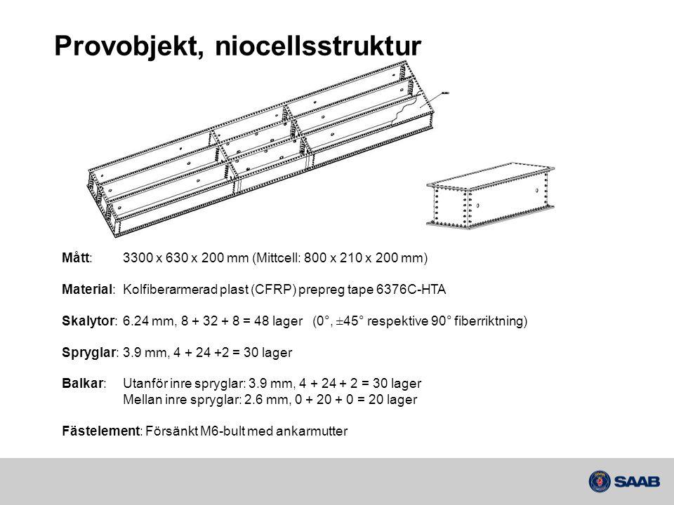 Provobjekt, niocellsstruktur
