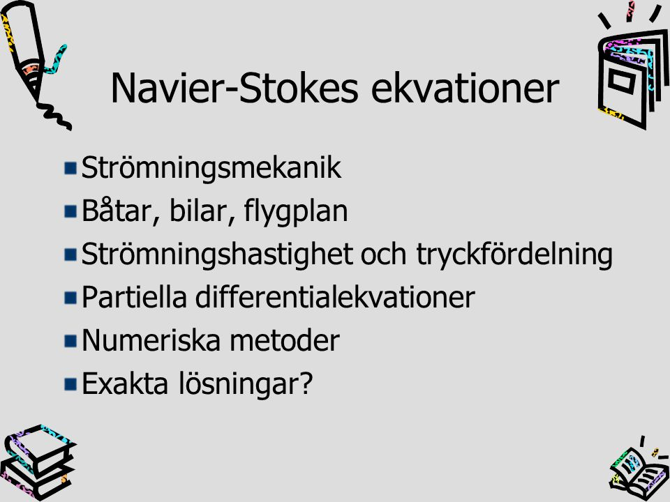 Navier-Stokes ekvationer