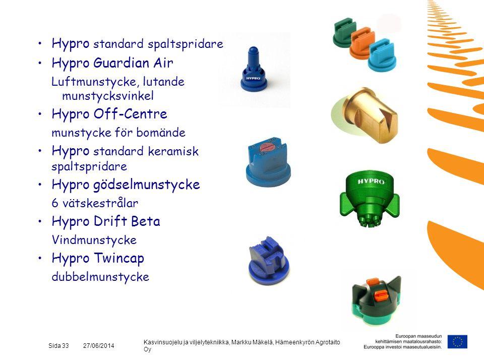 Hypro standard spaltspridare Hypro Guardian Air