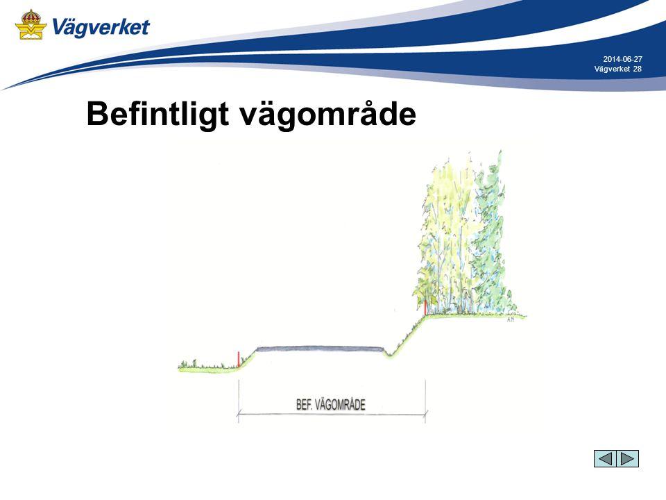 2017-04-03 Befintligt vägområde Vägverket