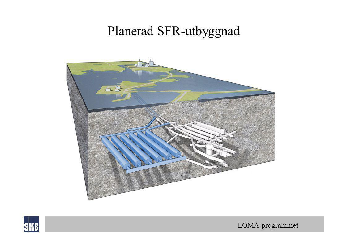 Planerad SFR-utbyggnad
