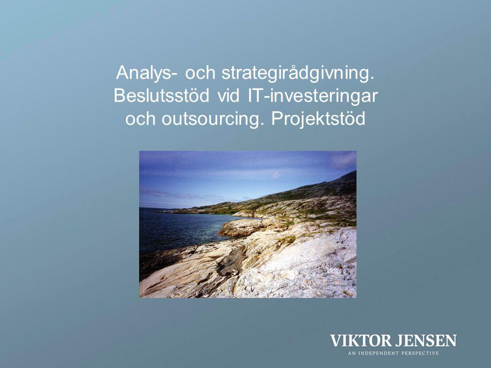 Analys- och strategirådgivning