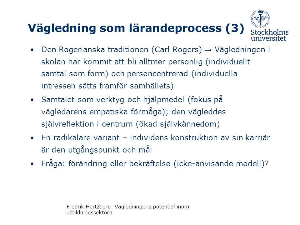 Vägledning som lärandeprocess (3)