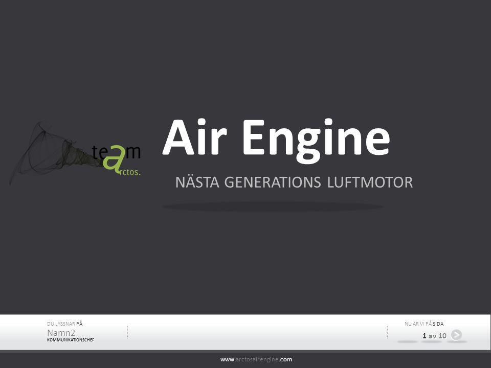 Air Engine NÄSTA GENERATIONS LUFTMOTOR Namn2 1 av 10