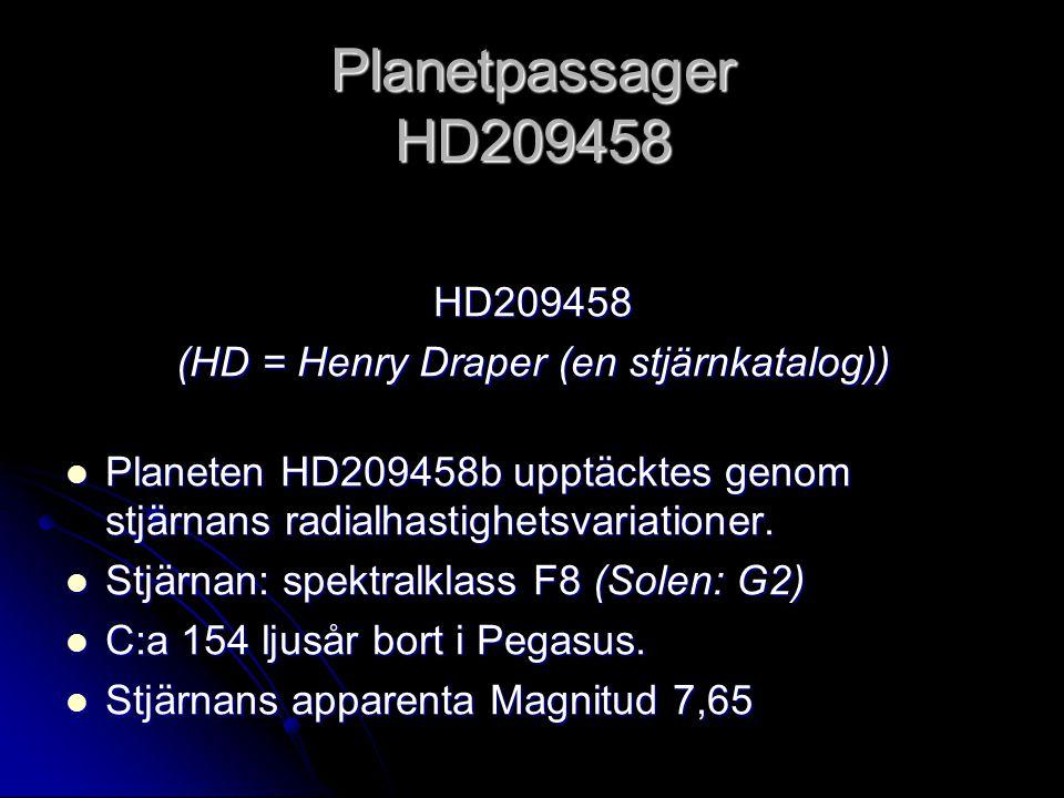 (HD = Henry Draper (en stjärnkatalog))