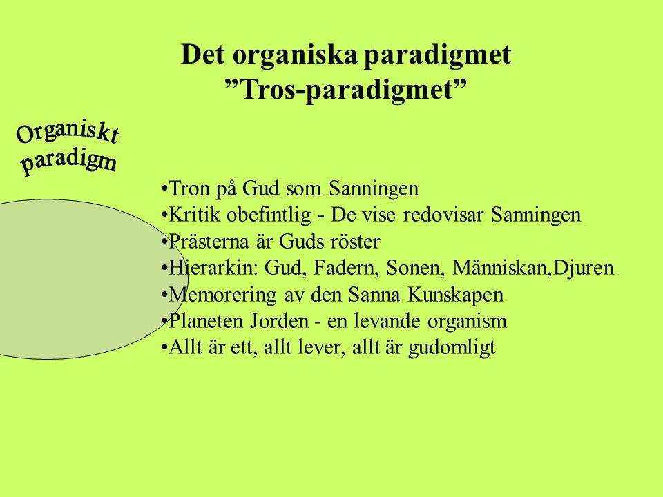 Det organiska paradigmet