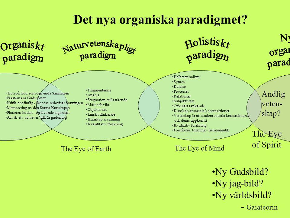 Det nya organiska paradigmet