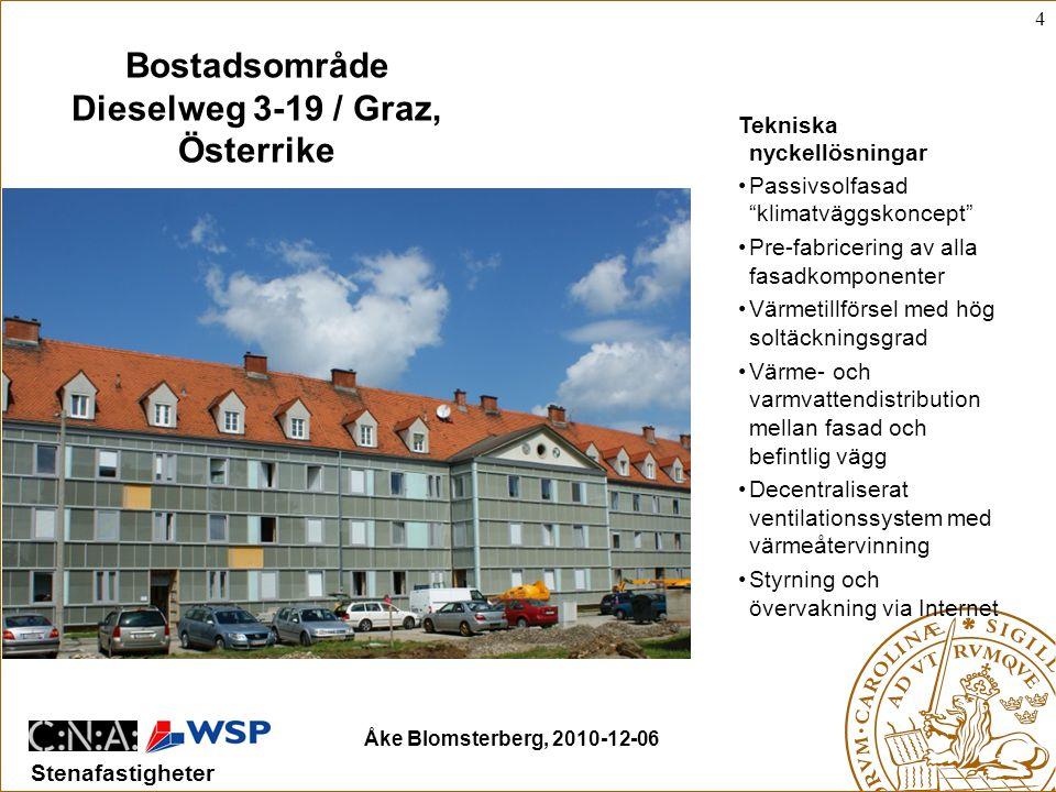 Bostadsområde Dieselweg 3-19 / Graz, Österrike