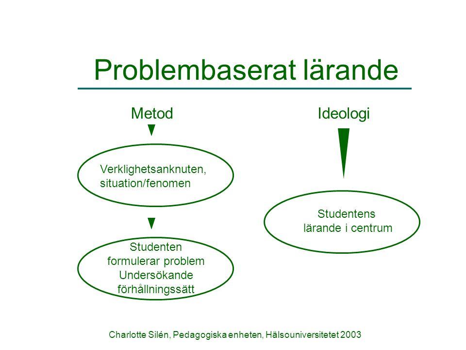 Problembaserat lärande