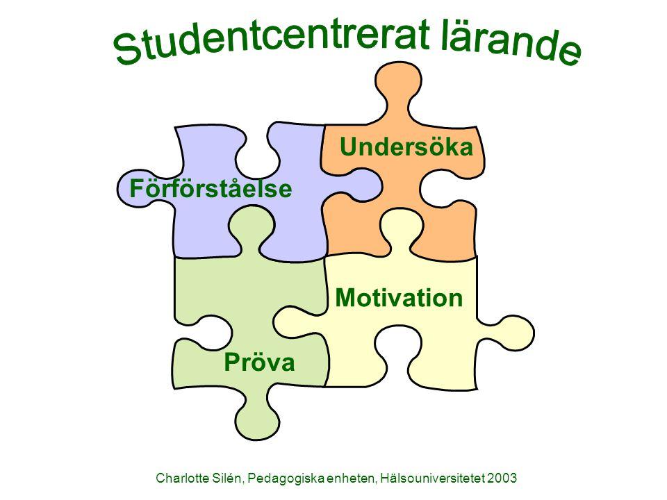 Studentcentrerat lärande