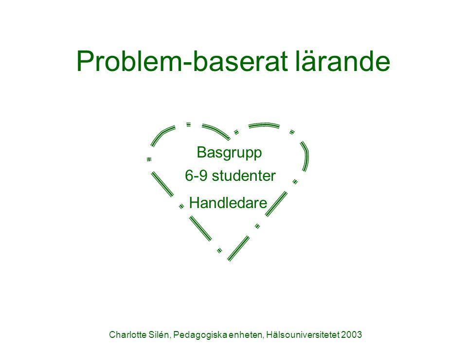 Problem-baserat lärande