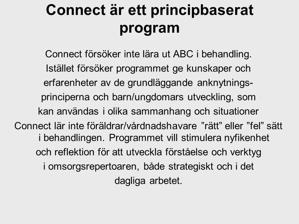 Connect är ett principbaserat program