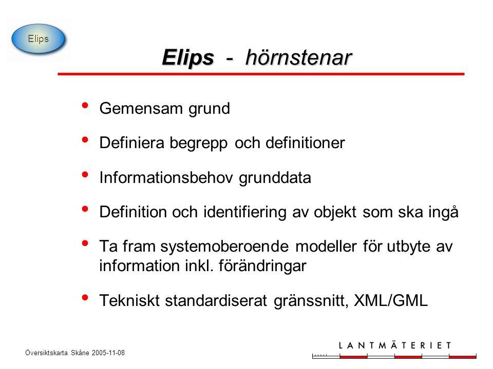 Översiktskarta Skåne 2005-11-08