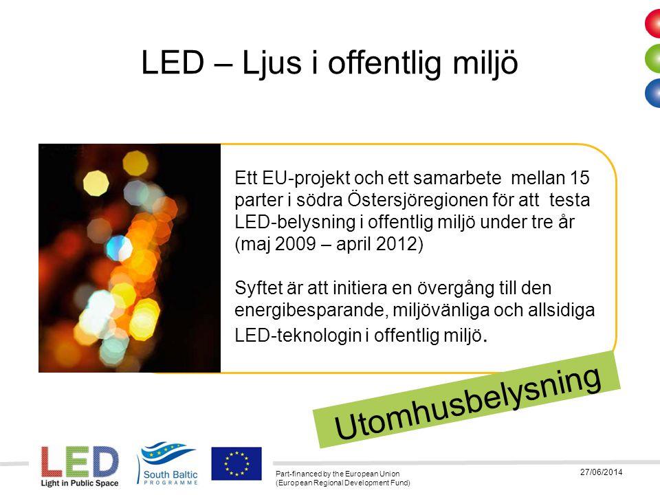 LED – Ljus i offentlig miljö
