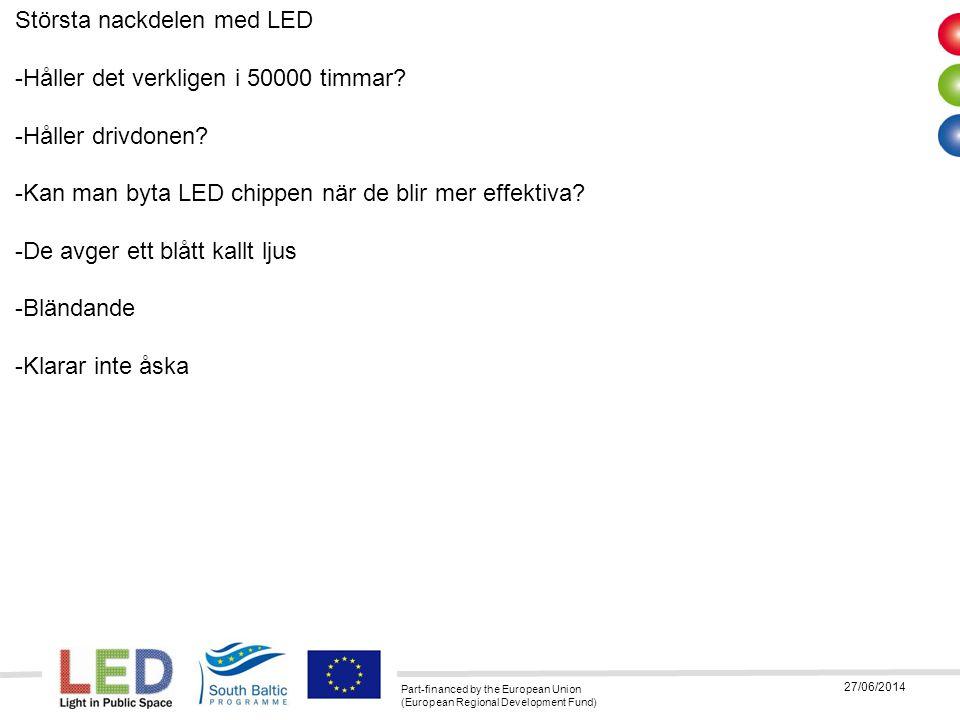 Största nackdelen med LED -Håller det verkligen i 50000 timmar