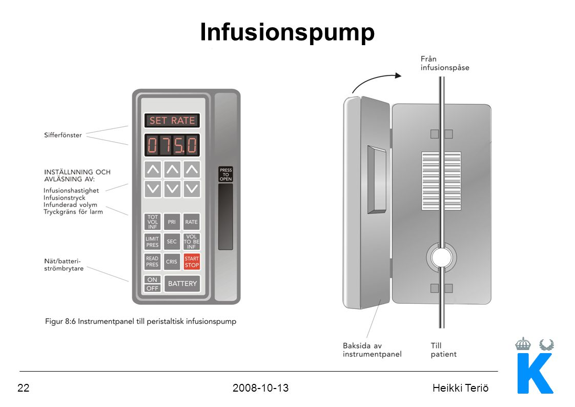 Infusionspump
