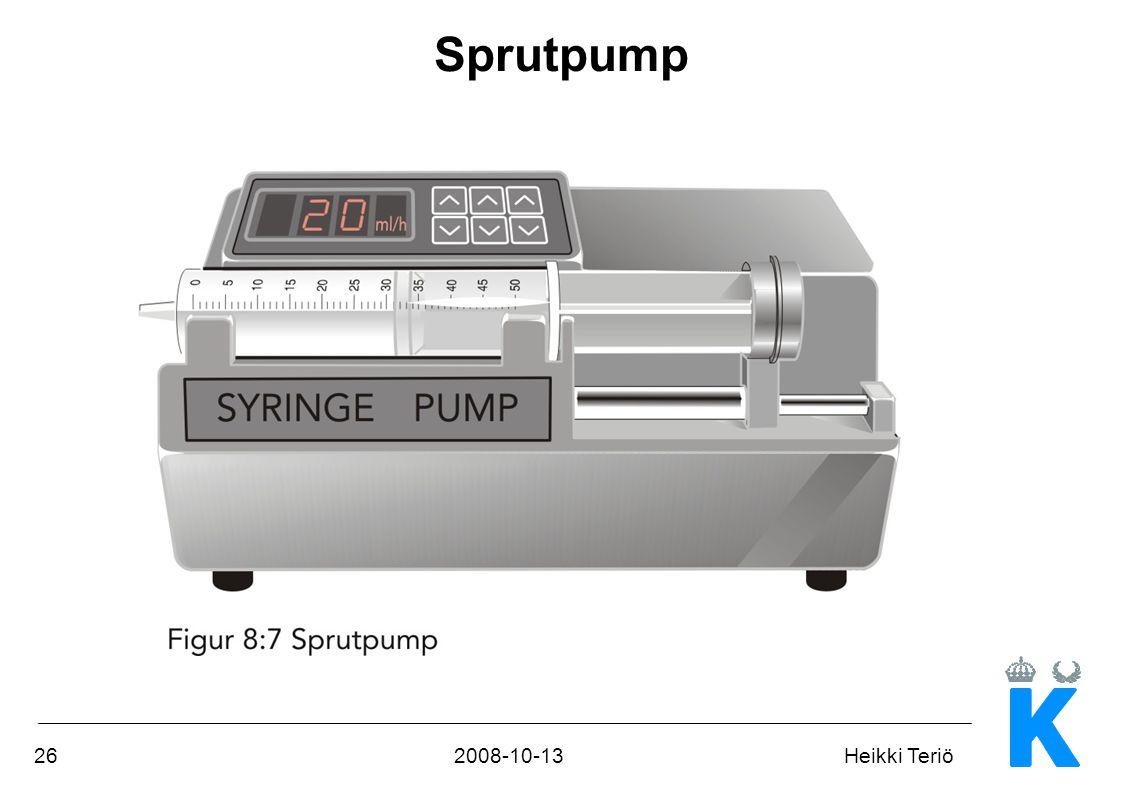 Sprutpump