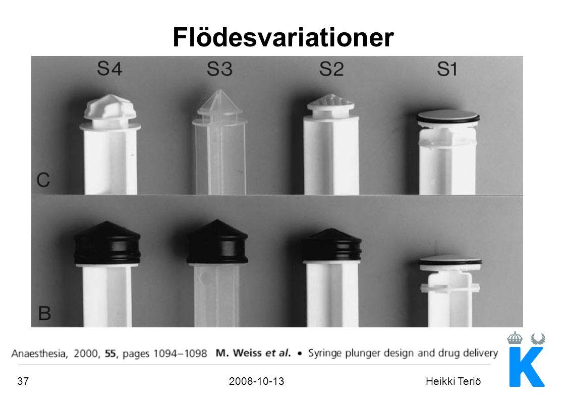 Flödesvariationer
