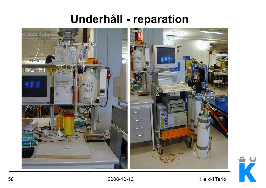Underhåll - reparation
