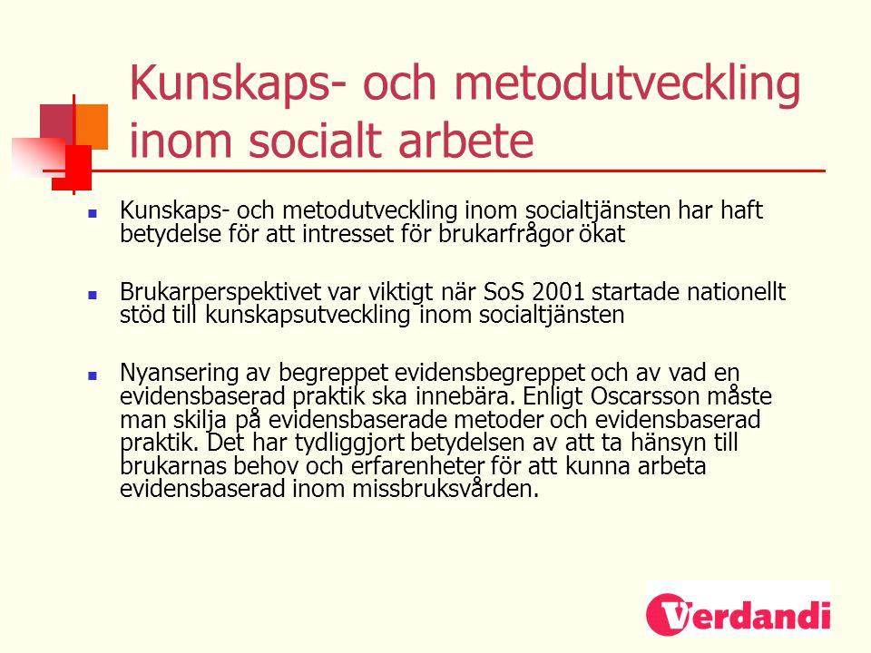 Kunskaps- och metodutveckling inom socialt arbete