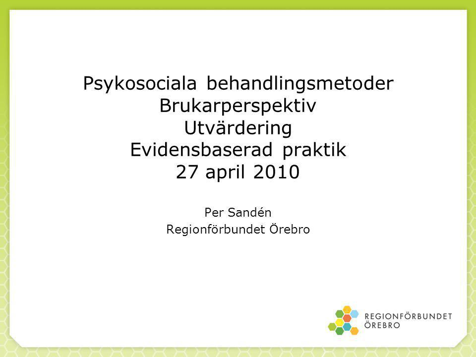 Per Sandén Regionförbundet Örebro