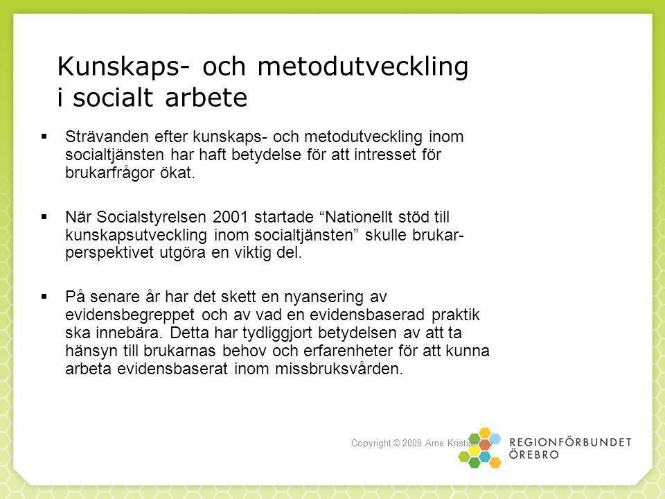 Kunskaps- och metodutveckling i socialt arbete