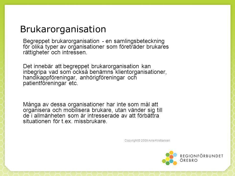 Brukarorganisation
