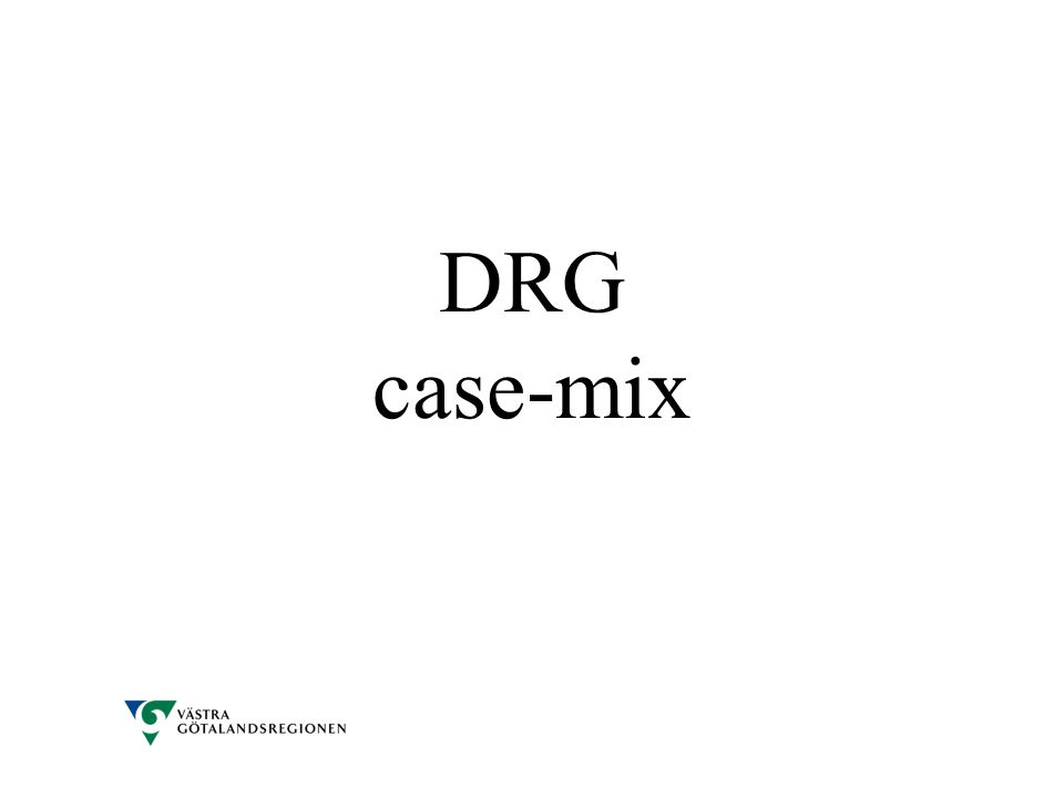 DRG case-mix