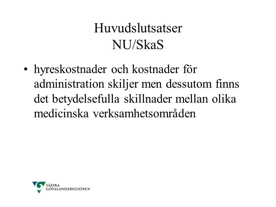 Huvudslutsatser NU/SkaS