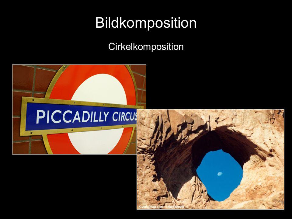 Bildkomposition Bildkomposition Cirkelkomposition Diagonal komposition