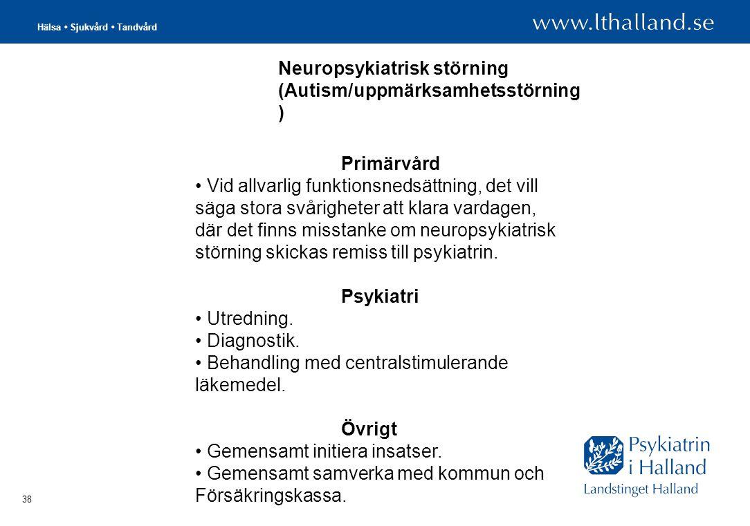 Neuropsykiatrisk störning