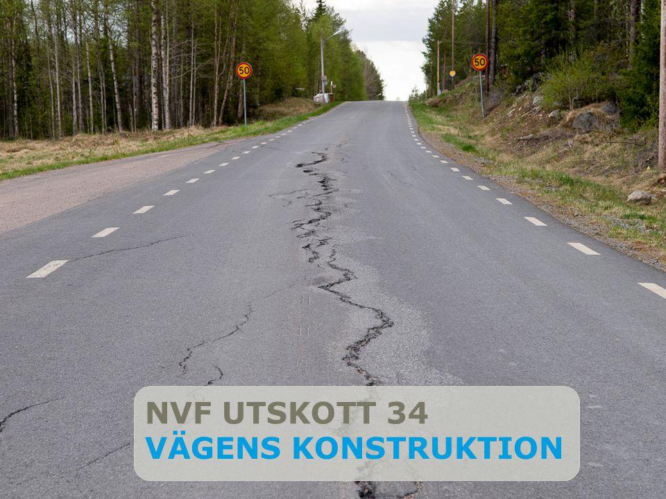Title slide NVF UTSKOTT 34 VÄGENS KONSTRUKTION