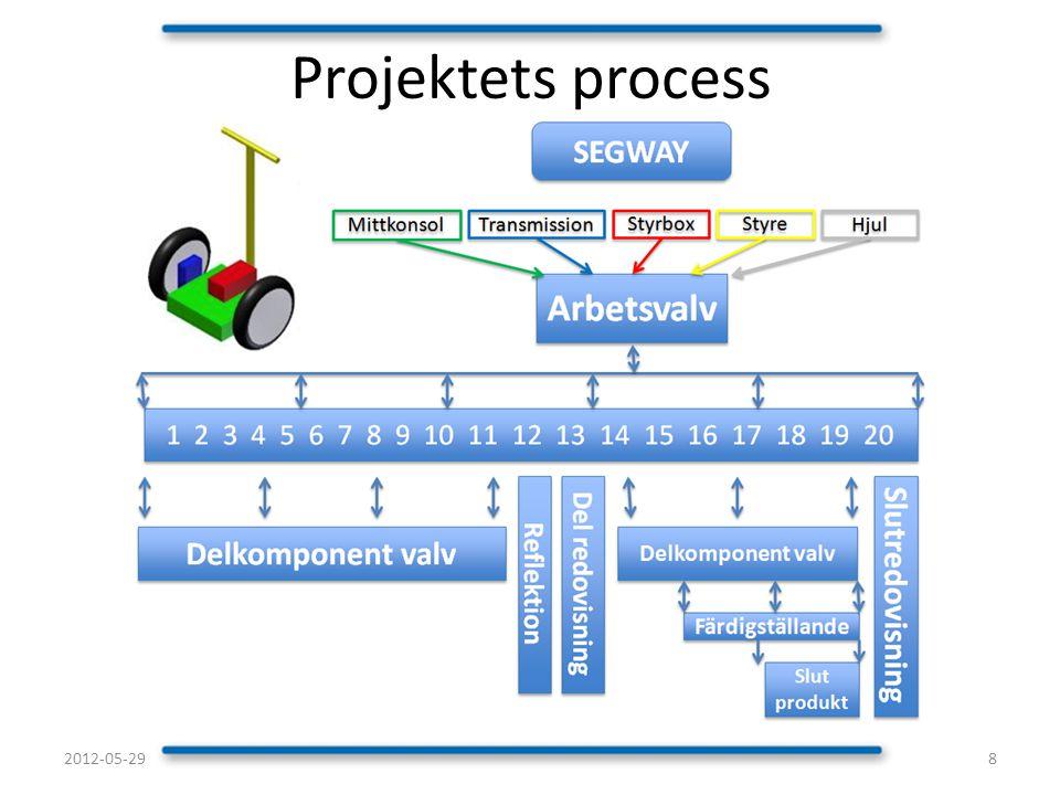 Projektets process 2012-05-29