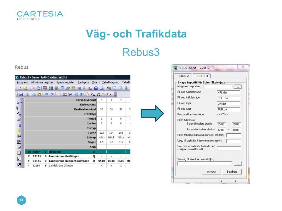 Väg- och Trafikdata Rebus3