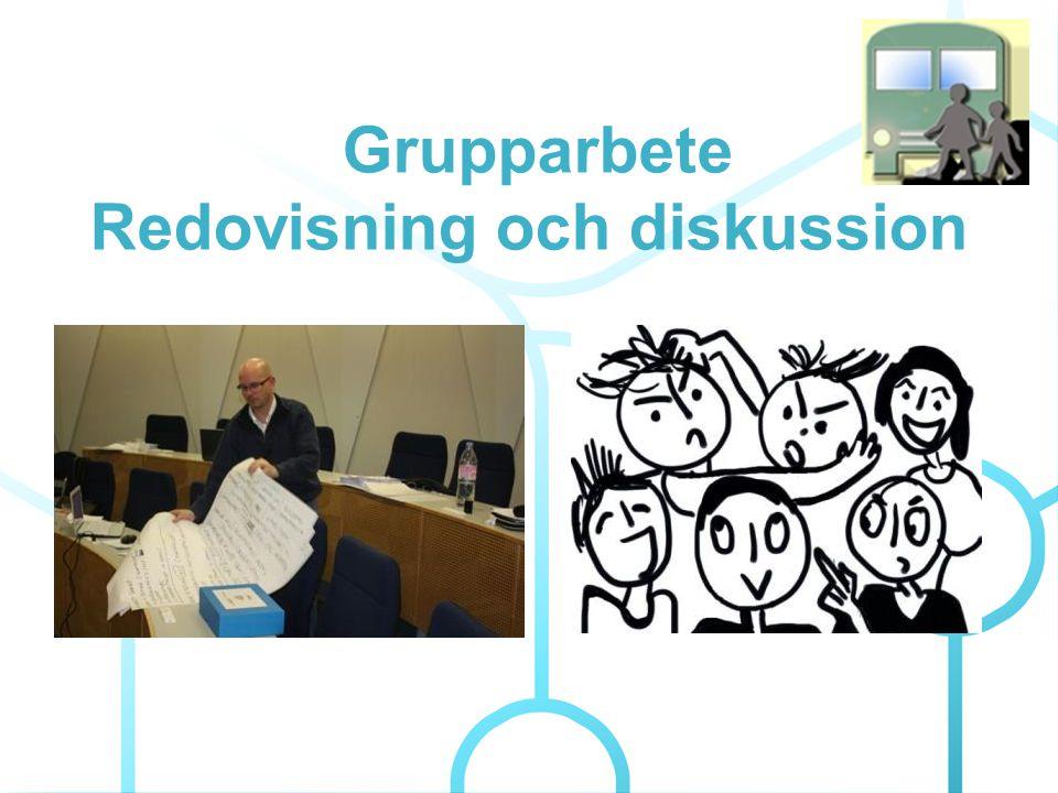 Grupparbete Redovisning och diskussion
