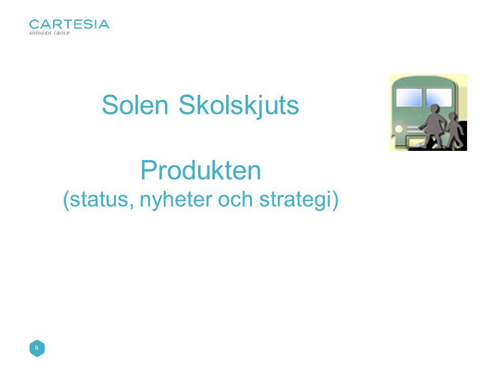 (status, nyheter och strategi)