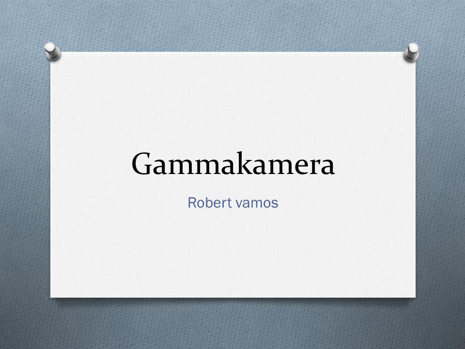 Gammakamera Robert vamos