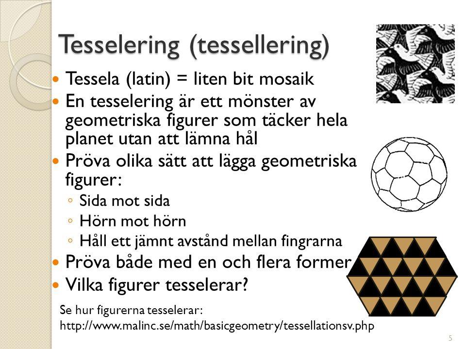 Tesselering (tessellering)