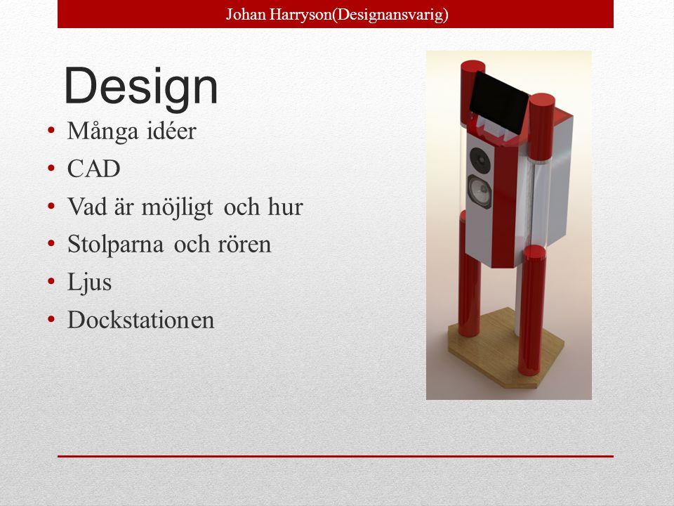 Johan Harryson(Designansvarig)